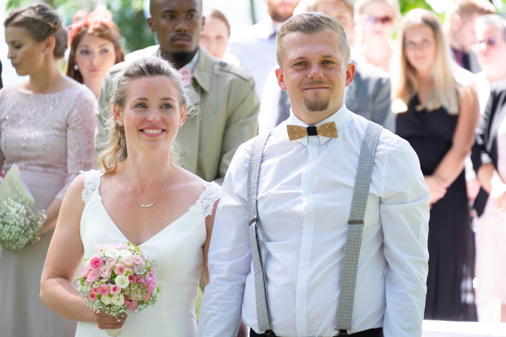 Hochzeitsshooting draußen