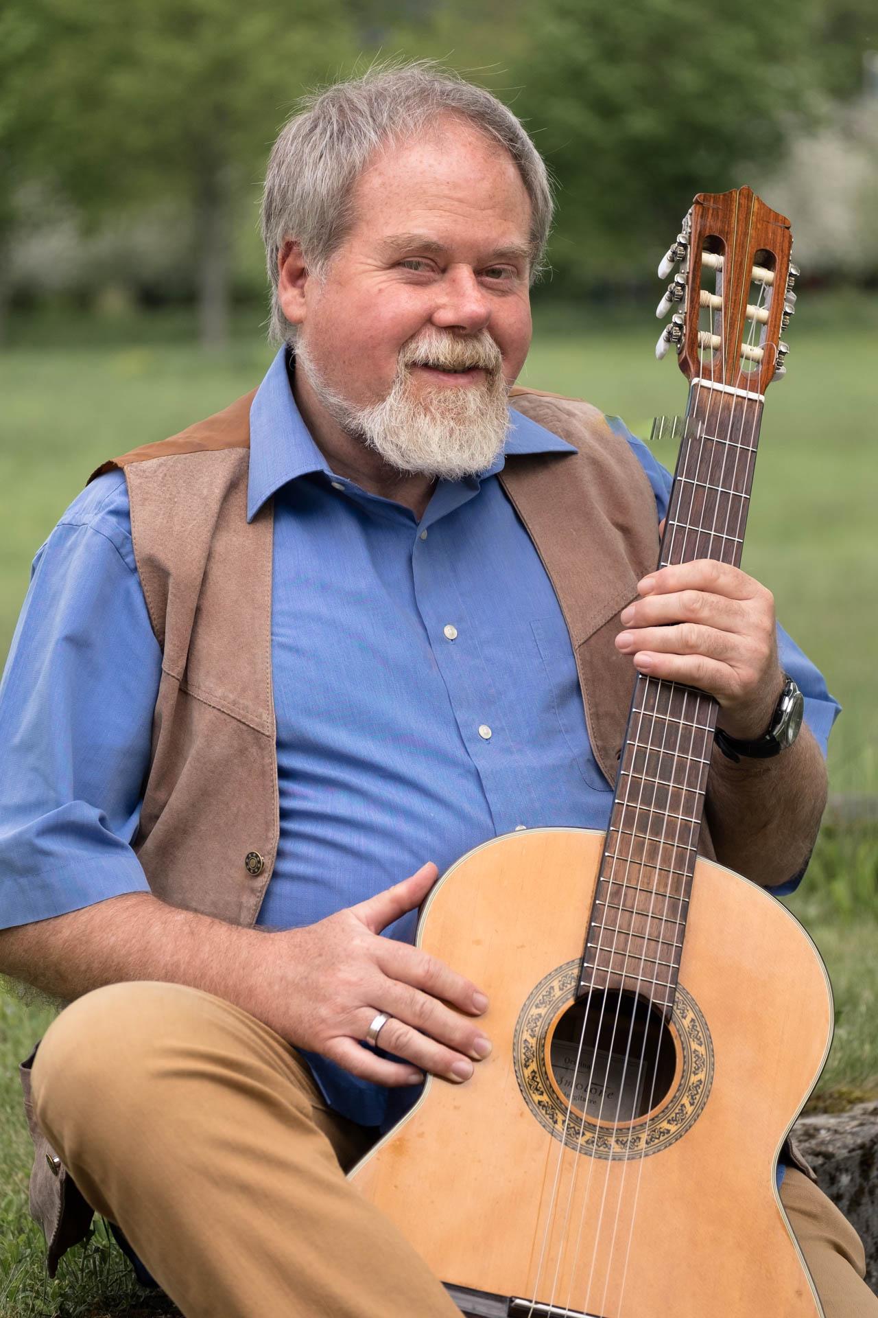 Portraitshooting mit Gitarre