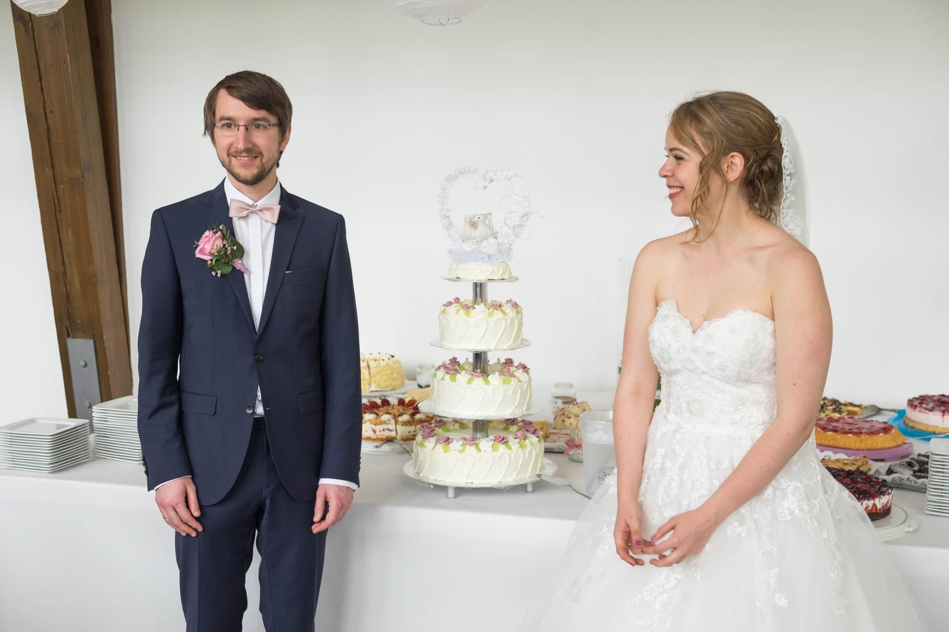 Hochzeit in der Rosenau