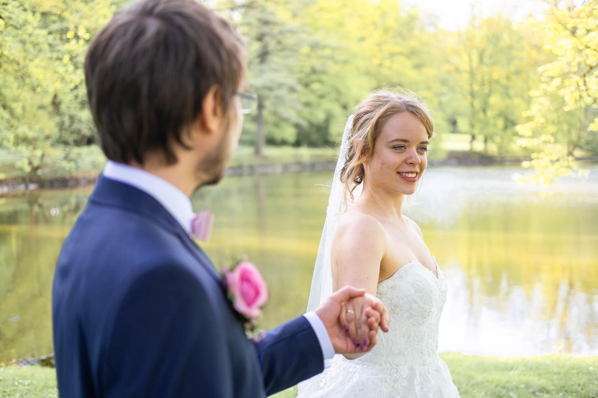 Hochzeitsbilder am See