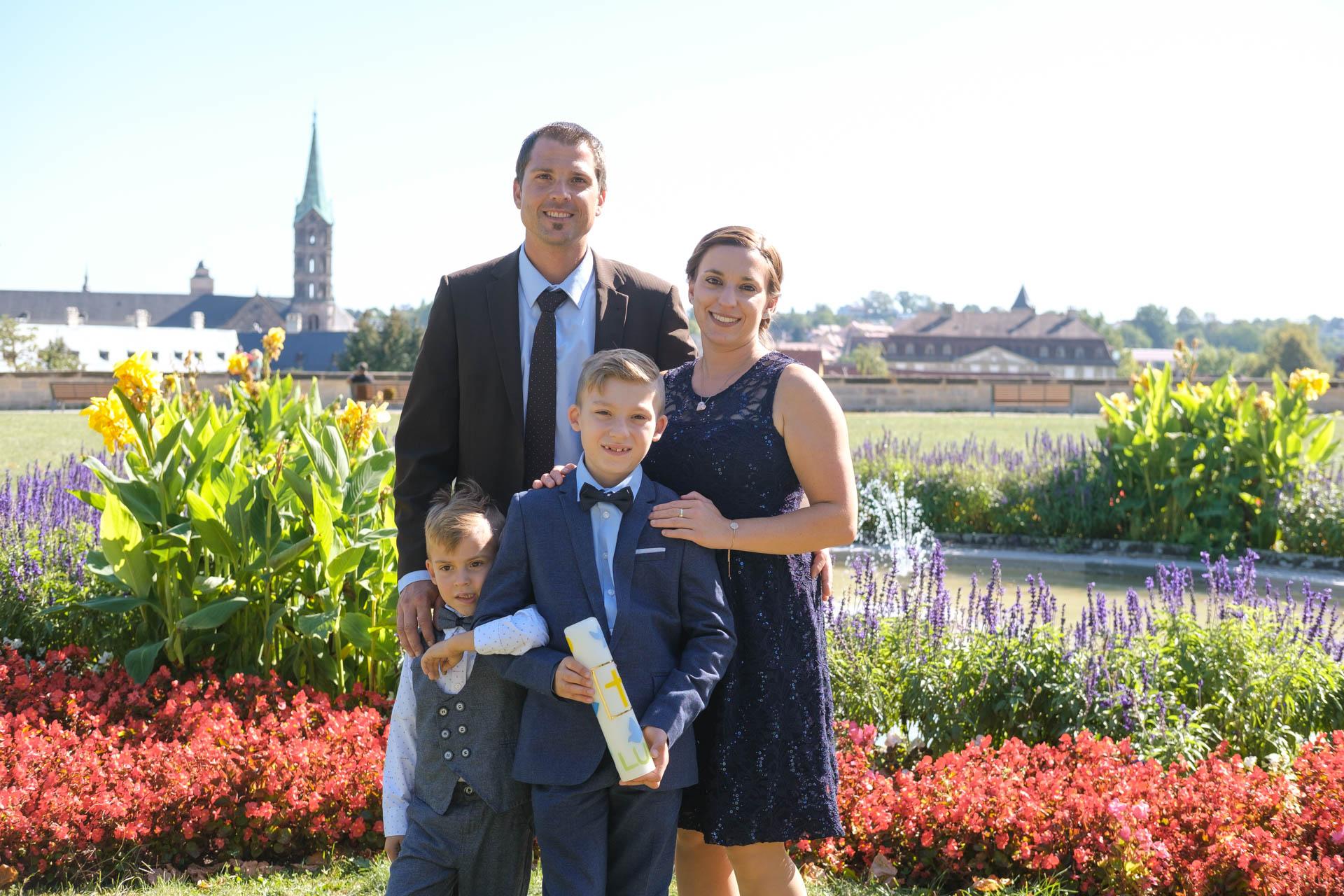 Kommunion - Familienbilder Bamberg