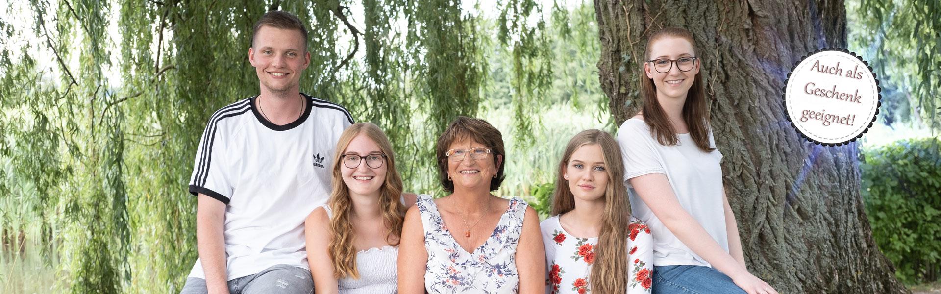 Geburtstagsbilder für Oma - Familienbilder Bamberg