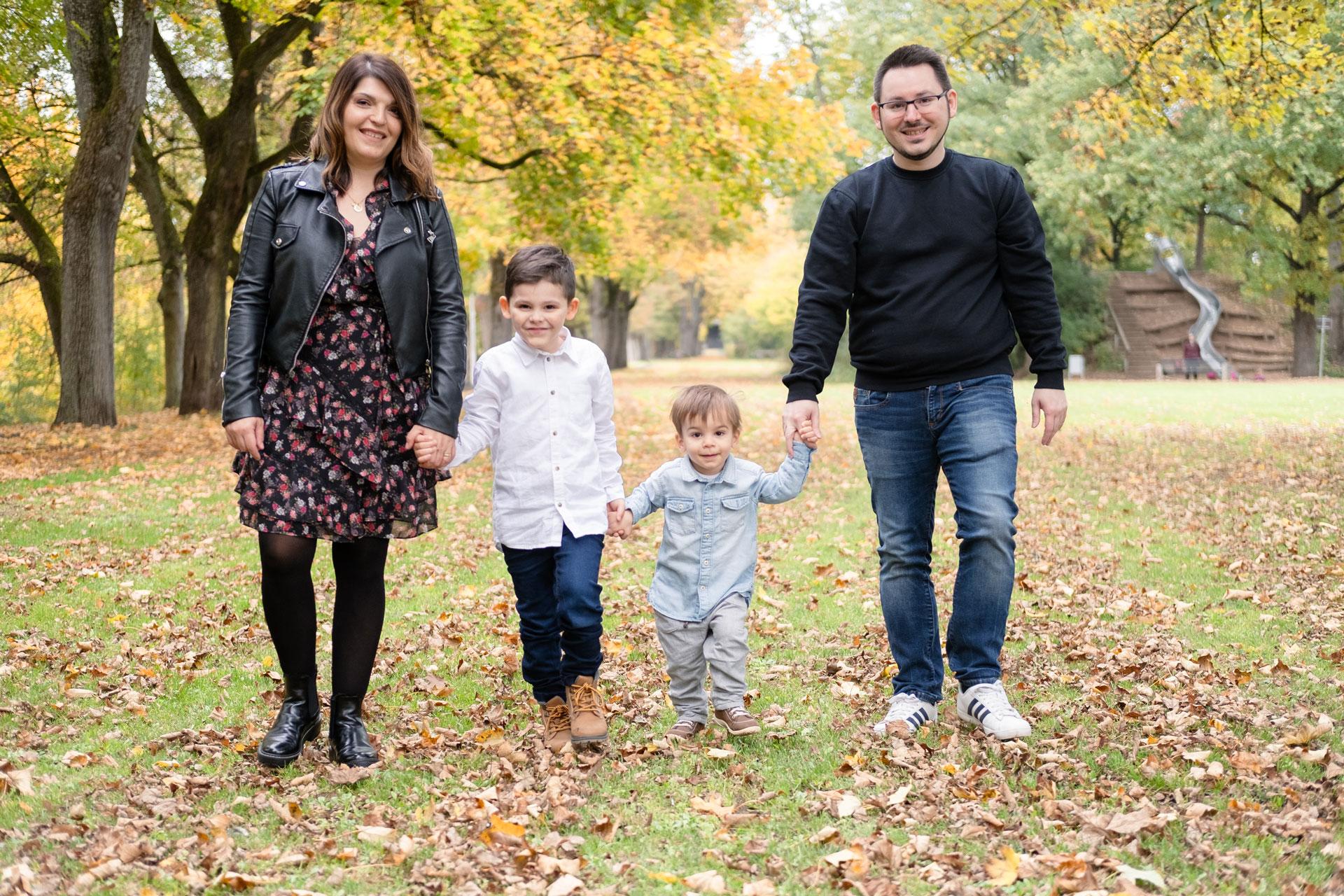 Familienbilder Herbst - Familienfotografie Bamberg